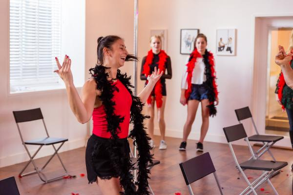 Burlesque Workshop in Haarlem
